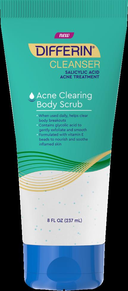 Differin Acne Clearing Body Scrub