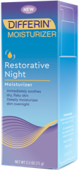 Differin Restorative Night Moisturizer box